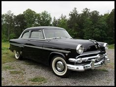 1954 Ford Customline My first car...in 1961 painted dark green