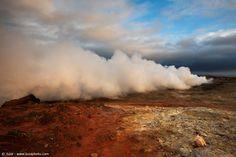 Nuvole di vapore, Islanda - Foto scattata con α7S  Sito Web: www.juzaphoto.com