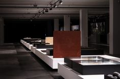 Landscape as architecture exhibition by João Gomes da Silva and Paulo David, Santa Maria de Belém – Portugal » Retail Design Blog