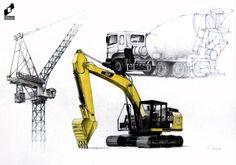 Machines study made in DOMIN Radom drawing school by Michalina Gradzik/ Studium maszyn wykonany w szkole rysunku DOMIN Radom przez Michalinę Gradzik https://web.facebook.com/DominRadom?_rdr