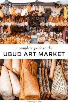 The Ubud Art Market is one of the must things to do in Ubud Bali! Read here everything you need to know about the Ubud Art Market, including the location of the Ubud Art Market, what to buy at the Ubud Art Market and shopping tips for the Ubud Art Market! Bali Travel Guide, Europe Travel Tips, Asia Travel, Solo Travel, Travel Guides, Travel Destinations, Beach Travel, Wanderlust Travel, Holiday Destinations
