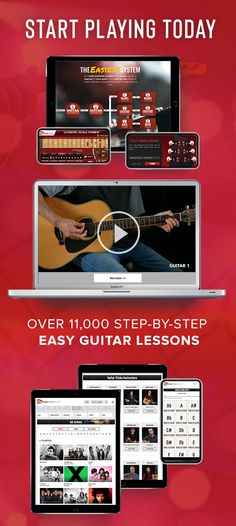 Want to have FUN learning to play guitar the easy way? Start today with an enjoyable routine at Guitar Tricks! Simple online guitar lessons to help learn so quickly that you'll be strumming your favorite songs in no time. And the best part: Guitar Tricks is now offering a full access FREE trial. 🙌 Want to try it yourself? Click here to learn more! Best Online Guitar Lessons, Guitar Lessons For Kids, Elementary Music Lessons, Vocal Lessons, Teach Yourself Guitar, Learn To Play Guitar, Electric Guitar Chords, Easy Guitar Songs, Singing Tips