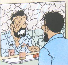 L'Affaire Tournesol ~ Capitaine Haddock