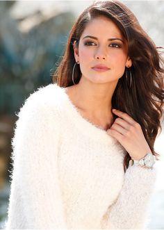 #white #pullover #bonprix
