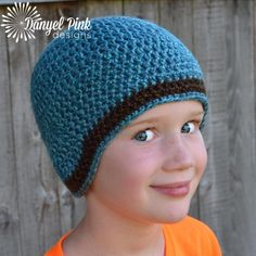 Jim Hat #crochet #pattern by @Danyel Pink Designs - via @Craftsy