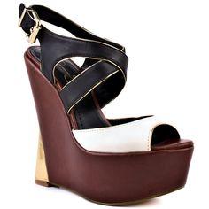 96e9df90ab0 Jessica Simpson Zeppa - Ivory Black Black Wedge Sandals