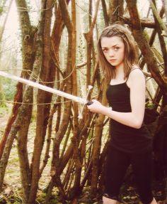 Maisie Williams, actress, Arya Stark,