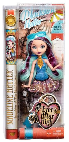 Ever After High Madeline Hatter Mirror Beach Doll New in Box!! CLC64 Beautiful!! #Mattel. Sold in My Store!! In Stock!!