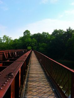 Bridge Across the Greenbrier River in Lowell, WV