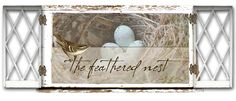 The Feathered Nest~  Sweet Dawn makes the most charming creations and shares darling vintage images!