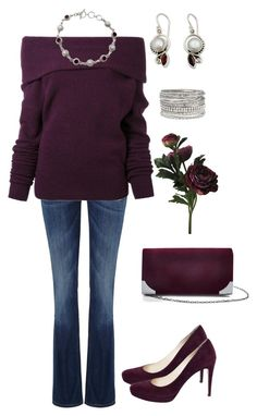 """""""Untitled #194"""" by gdhlady on Polyvore featuring NOVICA, maurices, Prada, Lee, Le Ciel Bleu and GUESS"""