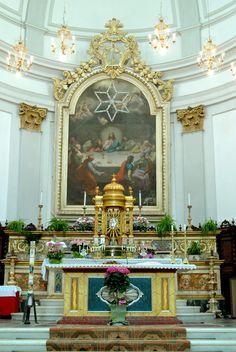 Santuario di S. Vittoria, interno del Santuario. #marcafermana #santavittoriainmatenano #fermo #marche