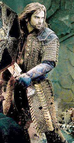 Kili's armor. Battle of the Five Armies                                    I LOVE YOU