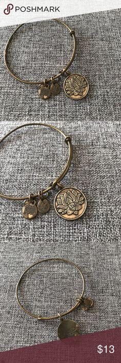 Alex & Ani - Lotus Bracelet. Alex & Ani - Lotus Bracelet. Gold Alex & Ani Jewelry Bracelets