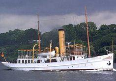 Steam Yacht SCHAARHORN, built 1908