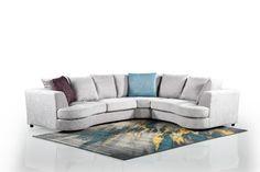 Casera Roma 3-Piece Corner Set - Luckys Discount Centre Sleeper Couch, Lounge Suites, Corner Unit, Chenille Fabric, Online Furniture, Garden Furniture, 3 Piece, Centre, Living Room
