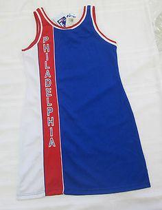 981bac80c NBA Philadelphia 76ers  63 NWT Jersey Dress by Hardwood Classic (XL)