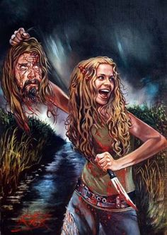 Rob and Sheri Moon Zombie, by Rick Melton