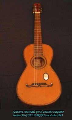 Guitarra-Miguel-Farf�n-Cuzco-(Per�)-ca.-1865