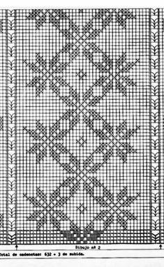 Heklanje By Pheonix 1758 – Heklanje Crochet Curtain Pattern, Crochet Table Runner Pattern, Crochet Curtains, Crochet Quilt, Crochet Tablecloth, Crochet Doilies, Knit Crochet, Crochet Patterns, Cross Stitch Borders