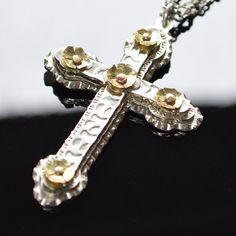 Classic Spanish Renaissance Cross necklace, by 2Roses