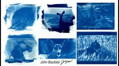How To Make A Cyanotype! Materials and Steps Cyanotype, Have Fun, Abstract, Simple, Pretty, Artwork, How To Make, Art Work, Work Of Art