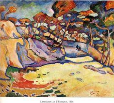 Estaque, the harbour - Georges Braque