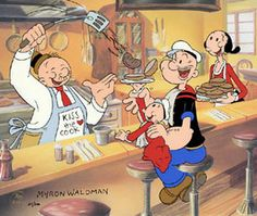 1000  images about Popeye on Pinterest   Popeye olive oyl  The sailor