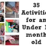 Activities for 18 month old and younger