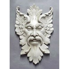 Gothic Mask Wall Plaque Small