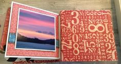 Alaska Mini Album, Cityscapes, Square Tag _ Pocket Album - Red Numbers, by Katelyn Grosart, Products by Graphic 45 - 16