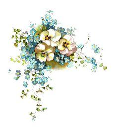 Flores diseño antiguo