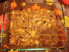apple crisp recipe #fall #recipe