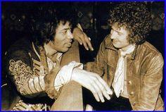 Jimi Hendrix and Eric Clapton, 1967