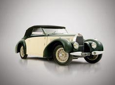 1939 Bugatti Type 57 Cabriolet by Gangloff