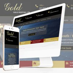 "The New Website for Gold Roofing is now ""Live"" at http://goldroofing.co.uk/"