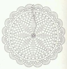 Diagram doily