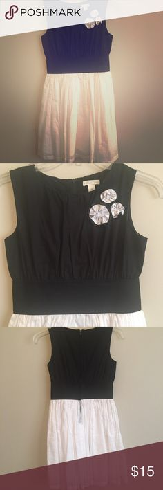 """Girls Black/White Dress Black/White little girls dress in excellent used condition 