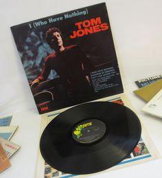 Tom Jones I Who have Nothing LP by SandyLeesAttic on Etsy, $11.95