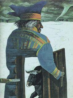 Волшебная дудочка. (Эстонская сказка) Иллюстратор Jaan Tammsaar Таллин, 1989