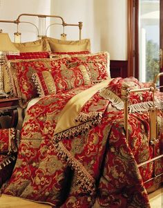 Sherry Kline China Art RED 6-piece California King Comforter Set by Sherry Kline Bedding, http://www.amazon.com/dp/B005D7LJD2/ref=cm_sw_r_pi_dp_ERj0rb1MQ5XKX