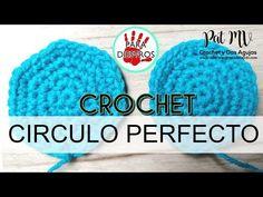 (210) Cómo tejer círculos perfectos a Crochet / Clase # 9 - YouTube Crochet Motif, Crochet Hats, San Antonio, Winter Hats, Weaving, Drawings, Youtube, Ideas, Crochet Stitches