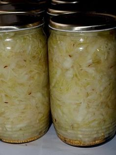 Slovak Recipes, Czech Recipes, Raw Food Recipes, Cooking Recipes, Fruit Preserves, Good Food, Yummy Food, Homemade Pickles, Home Canning