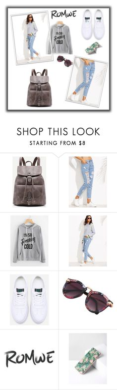 """ROMWE 2/10"" by mersy-123 ❤ liked on Polyvore"