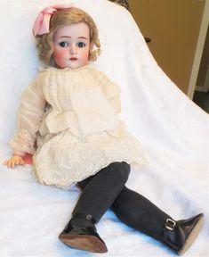 "26"" Antique German Simon Halbig K*R Bisque Socket Head Flirty Sleep Eyes Doll | Dolls & Bears, Dolls, Antique (Pre-1930) | eBay!"