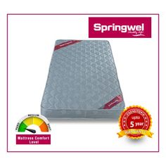 #Springwel is the best #mattress brand in India. They offer a rich and varied choice of mattresses. They use the best quality material, perfected with finer details and delivers only after proper check. To Know More Visit Us at: http://www.springwel.in/