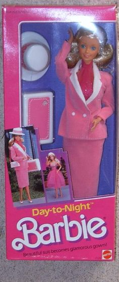 Day-to-Night Barbie...UMMM @Beth Boylan, I bet yours still looks just like this!!!!