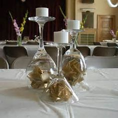 50th Wedding Anniversary Table Centerpieces & 50th Anniversary Party Ideas On A Budget | Birthday Party Table ...