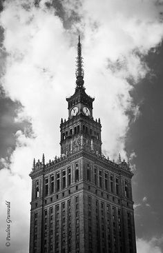 Palace of Culture and Science in Warsaw, Poland Warsaw Poland, Big Ben, Palace, Science, Culture, Architecture, Building, Photography, Travel
