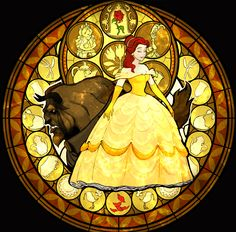 """Beauty and the Beast in the videogame """"Kingdom Hearts""""."""